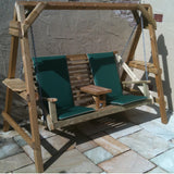 Wooden A Frame Swing