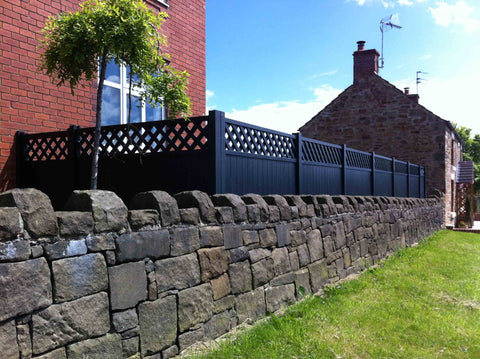 Painted Regal Deluxe Fence Panels