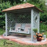 Painted garden Swing