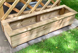 The Hampton Arbour (Natural Finish)