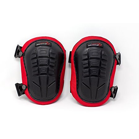 Professional Knee Pads with Heavy Duty Foam & Gel | Comfortable Gel Cushion, Strong Double Straps and Easily Adjustable Fix Clips