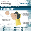 Kleen Mitt Polish Mitt Refill | Long-Pile Polyester for Buffering | One Size Fits Most