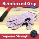 Reinforced Cut Resistant Gloves | Touchscreen Compatible, Level 5 Cut Resistance, Ambidextrous Design, Superior Grip Strength