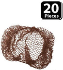 Scarlett Durable and Invisible Medium Brown Hair Nets | Fits Adult and Youth
