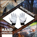 Wing Thumb with Reinforced Finger Protection | Breathable, Stretch Fabric Backing, Finger Reinforced Assembly Gloves
