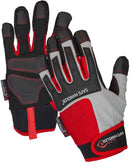 Dual Tact Tech Gloves | Touch Screen Compatible, Hook & Loop Wrist Strap, Protective Knuckle Shell