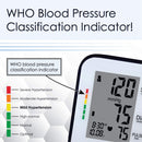 Fully Automatic ARM Blood Pressure Monitor | 120 Memory, Fast Response, Large LCD Display, Carrying Case