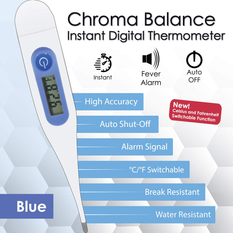 Chroma Balance Instant Reading Digital Thermometer Pack of 1