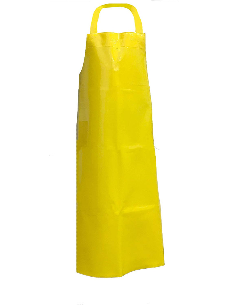 Waterproof TPU Bib with Adjustable Neck, 11.8 Mil Thick Apron