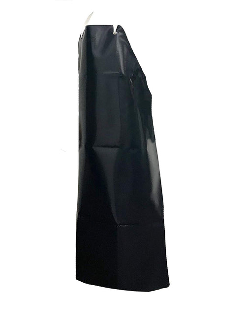KLEEN HANDLER Commercial Heavyweight Vinyl Apron, Black, 23 Mil