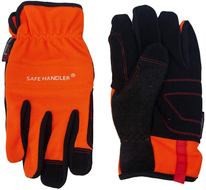 High Visibility Gloves | High Visibility, Breathable Comfort, Fitted Wrists, Reinforced Palm and Knuckle