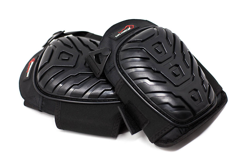 Professional Crystal Gel Knee Pads with Heavy Duty Foam Padding and Comfortable Gel Cushion