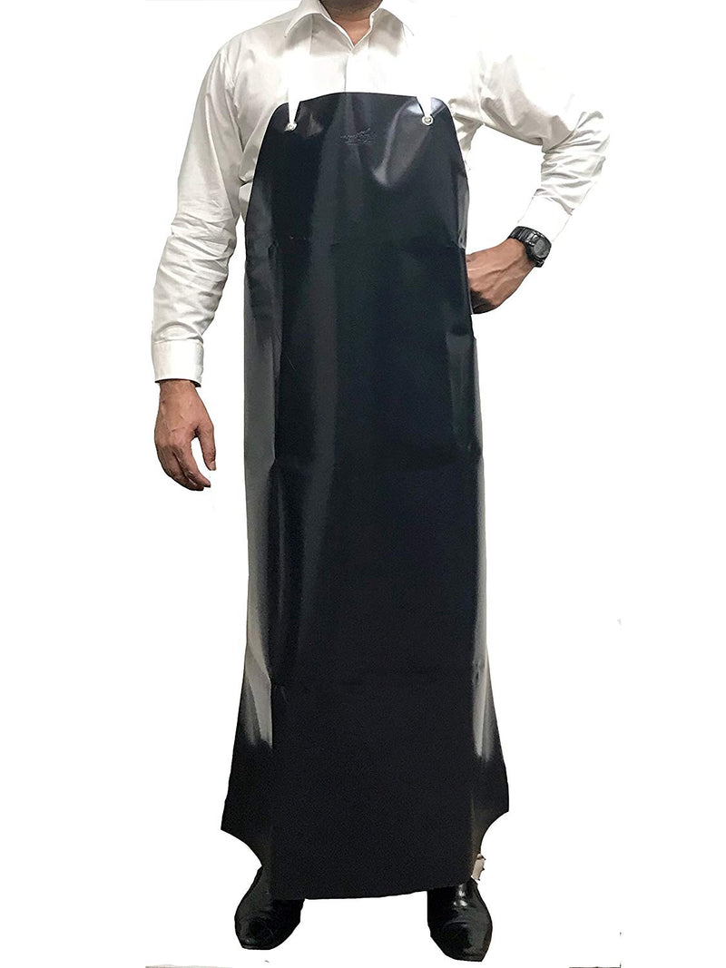 Heavy Duty Vinyl Dishwashing | Industrial Cleaning, Extra Long Protective Water Resistant Apron