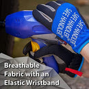 Easy Fit Gloves | Lightweight Hand Protection, Easy On and Off Wide Cuffs, Breathable Comfort