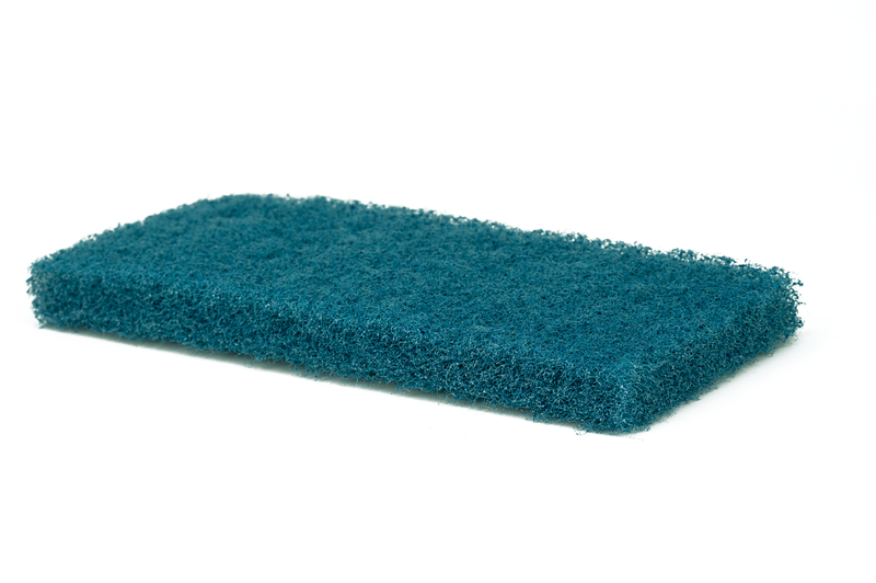 Medium Blue Cleaning Pad | Medium Duty Scrub, Eco-Friendly, General Cleaning