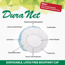 DuraNet | Spun-bound Breathable Comfort Hair Nets | Fits Adult and Youth | Pack of 100