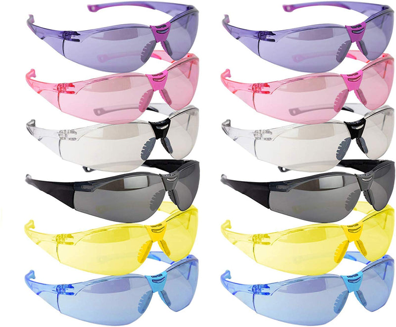 VARIANT |  Full Color Variety Safety Glasses | Fits Adult and Youth