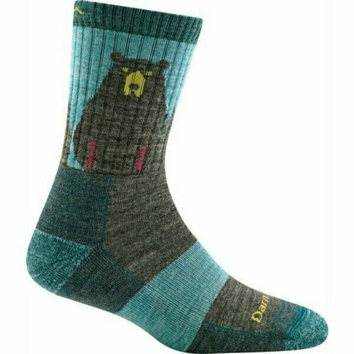 Women's Bear Town Micro Crew Lightweight Hiking Sock by Darn Tough