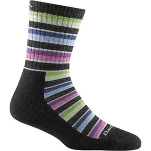Women's Decade Stripe Midweight Hiking Sock by Darn Tough