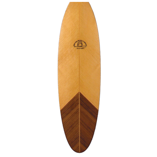 Eagle Feather Canoe Paddle by Grey Owl