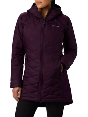Heavenly™ Long Hybrid Hooded Jacket by Columbia