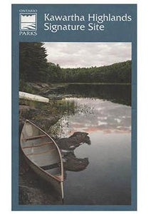 Kawartha Highlands Provincial Park Map by Ontario Parks