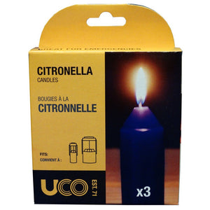 Citronella Candles (3 Pk) by UCO