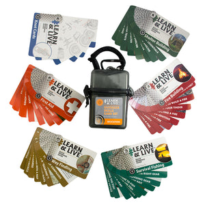 Outdoor Skills Card Set by UST