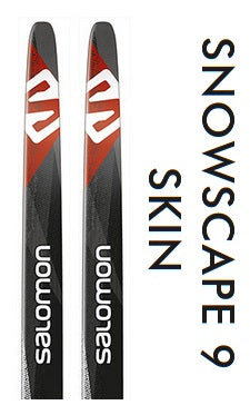 SNOWSCAPE 9 SKINS Classic Skis by Salomon