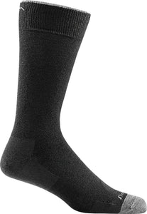 Men's Solid Crew Lightweight Lifestyle Sock by Darn Tough