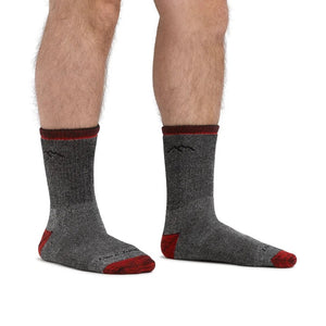 Men's Mountaineering Micro Crew Heavyweight Hiking Sock by Darn Tough