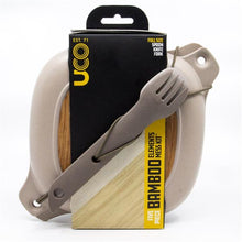 5 Piece Bamboo Elements Mess Kit by UCO