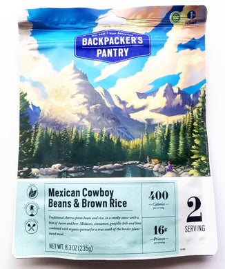Mexican Cowboy Beans and Brown Rice by Backpacker's Pantry