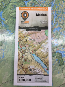 Madoc topographic map by Backroad Mapbooks