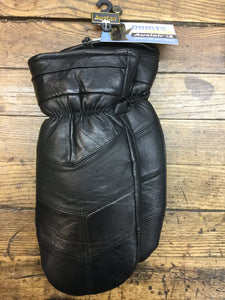 Cozy Leather Fingermitt by Auclair