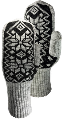 Norwegian Flakes Mitts by Auclair