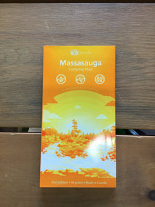 Massasauga Waterproof Map by Unlostify