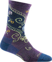 Women's Twisted Garden Crew Lightweight Lifestyle Sock by Darn Tough