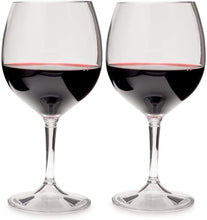 Nesting Red Wine Glass Set by GSI Outdoors