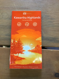 Kawartha Highlands Waterproof Map by Unlostify