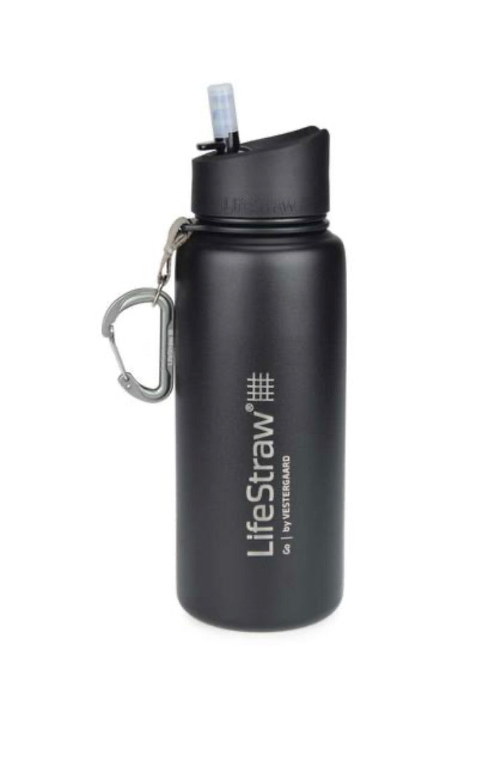 Go Stainless Steel Bottle With Filter by LifeStraw
