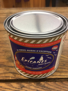 Clear High Gloss Marine Varnish 500ml by Epifanes