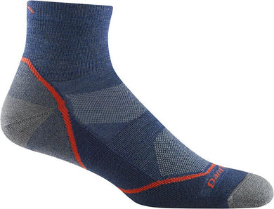 Men's Hiker Quarter Sock Lightweight with Cushion by Darn Tough