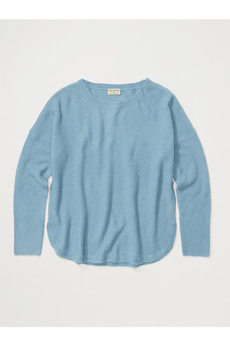 Pontedera Bateau Neck Sweater by ExOfficio