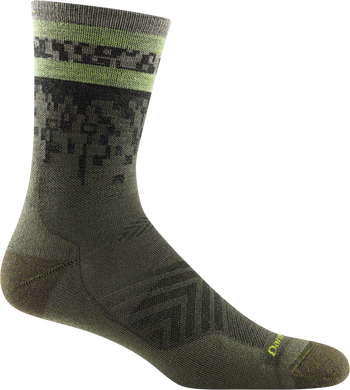 Men's Tempo Micro Crew Ultra Lightweight Run Socks with Cushion by Darn Tough