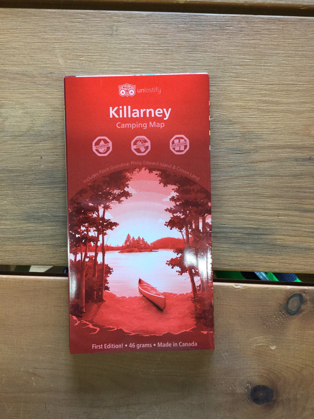 Killarney Waterproof Map by Unlostify
