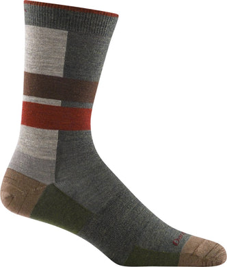 Men's Eclipse Crew Lightweight Lifestyle Sock by Darn Tough