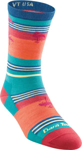 Women's South Beach Crew Lightweight Lifestyle Sock by Darn Tough