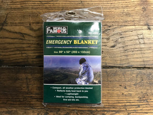 Emergency Blanket by World Famous
