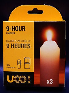 9-Hour Candles by UCO